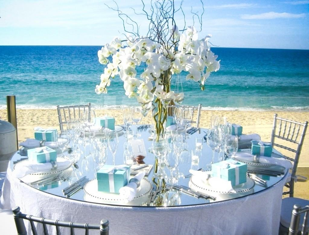 Wonderful Beach Wedding Table Decorations Best House Design