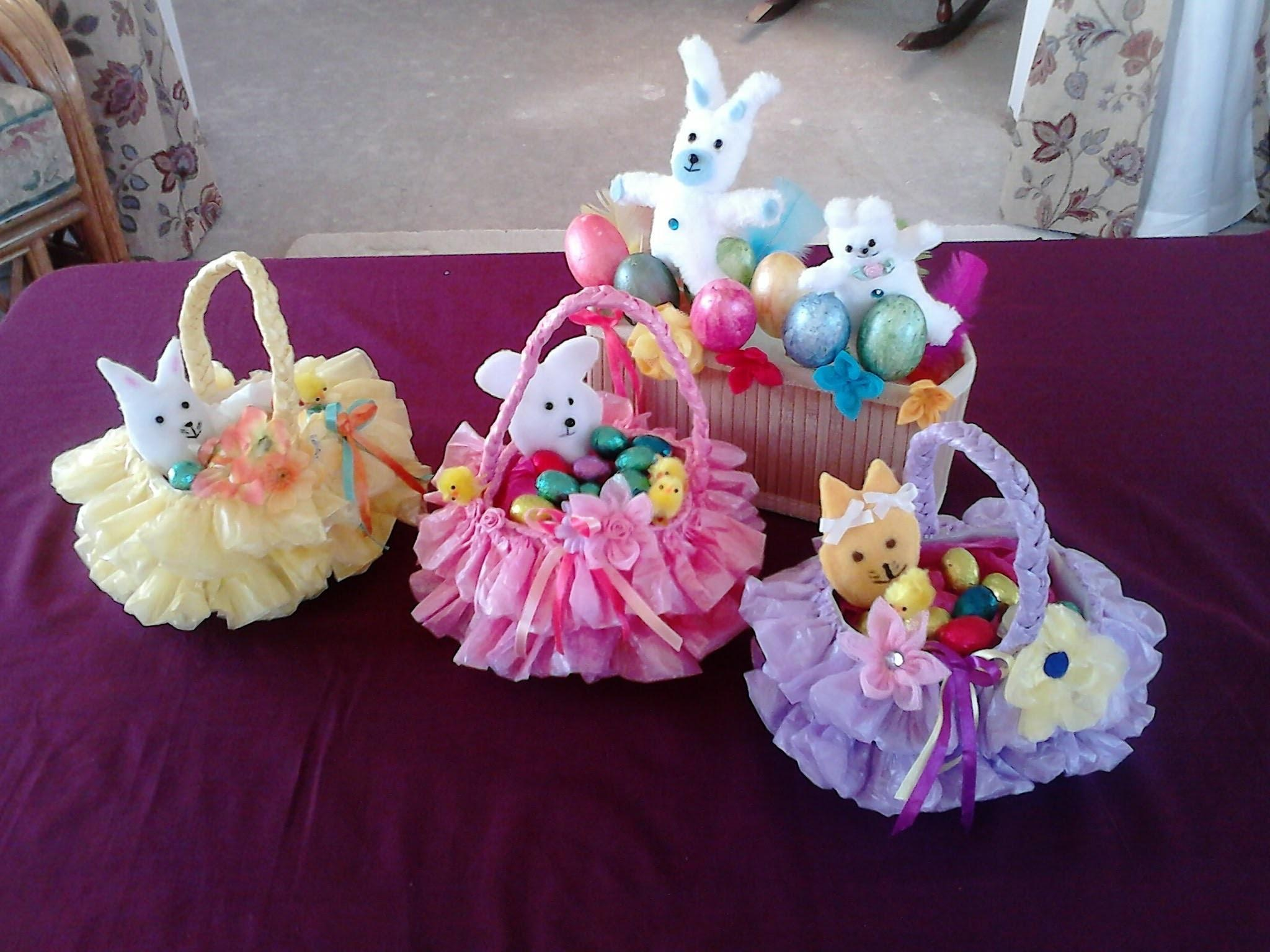 Wonderful Diy Beautiful Easter Basket Recycled