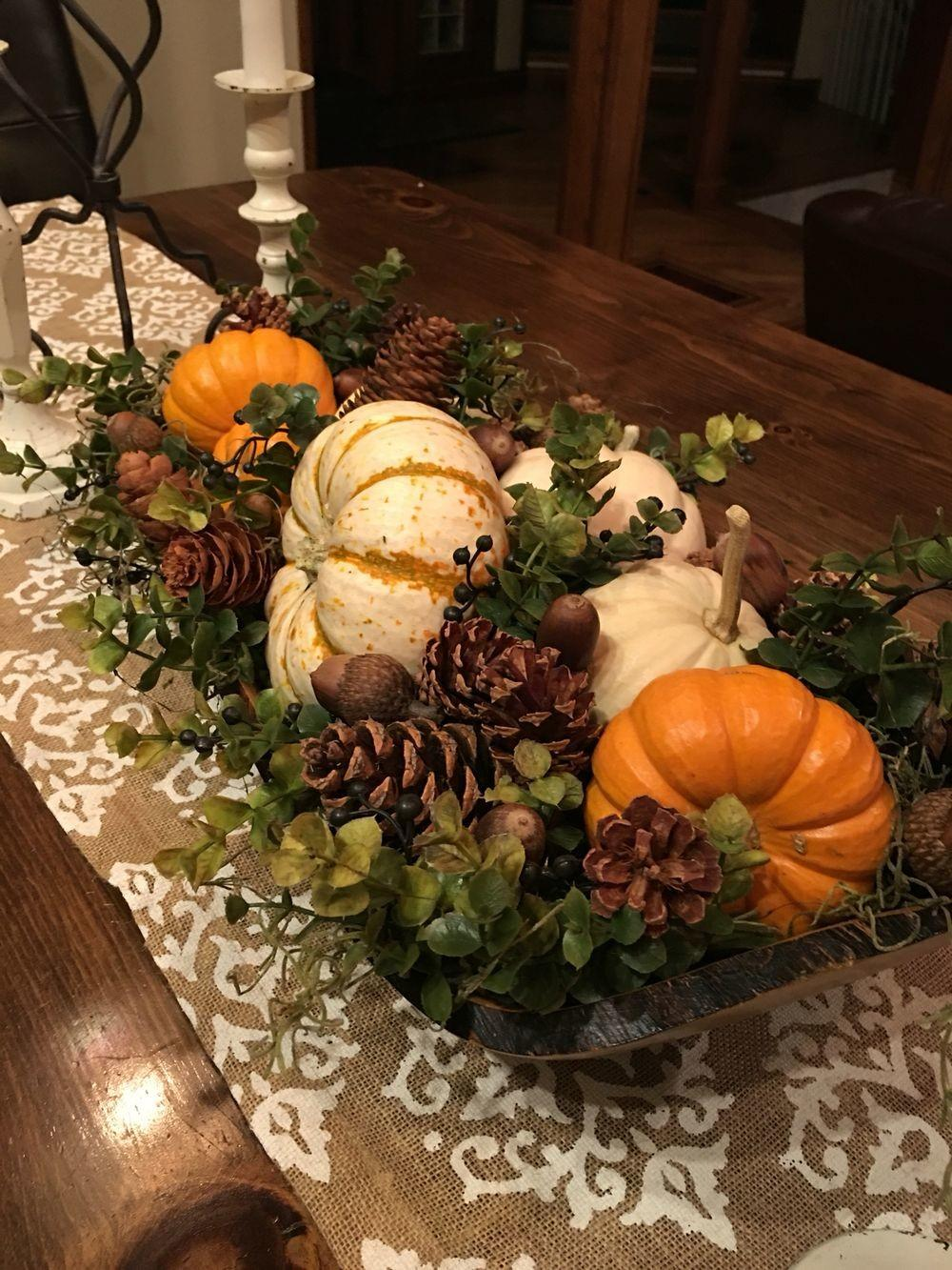 Wonderful Diy Thanksgiving Table Decorations Homedecort