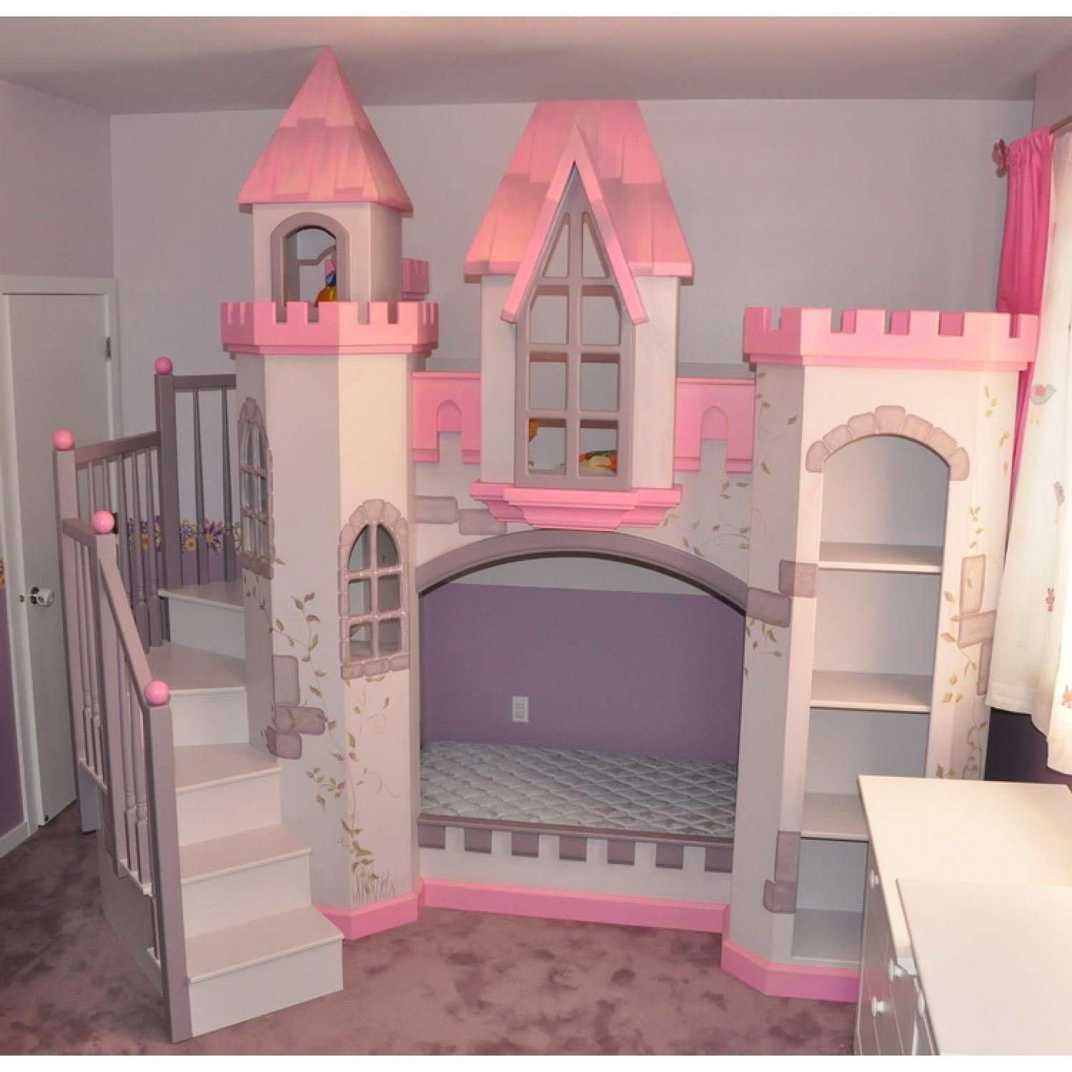 Wonderful Little Girls Bedroom Decors Cool Castle