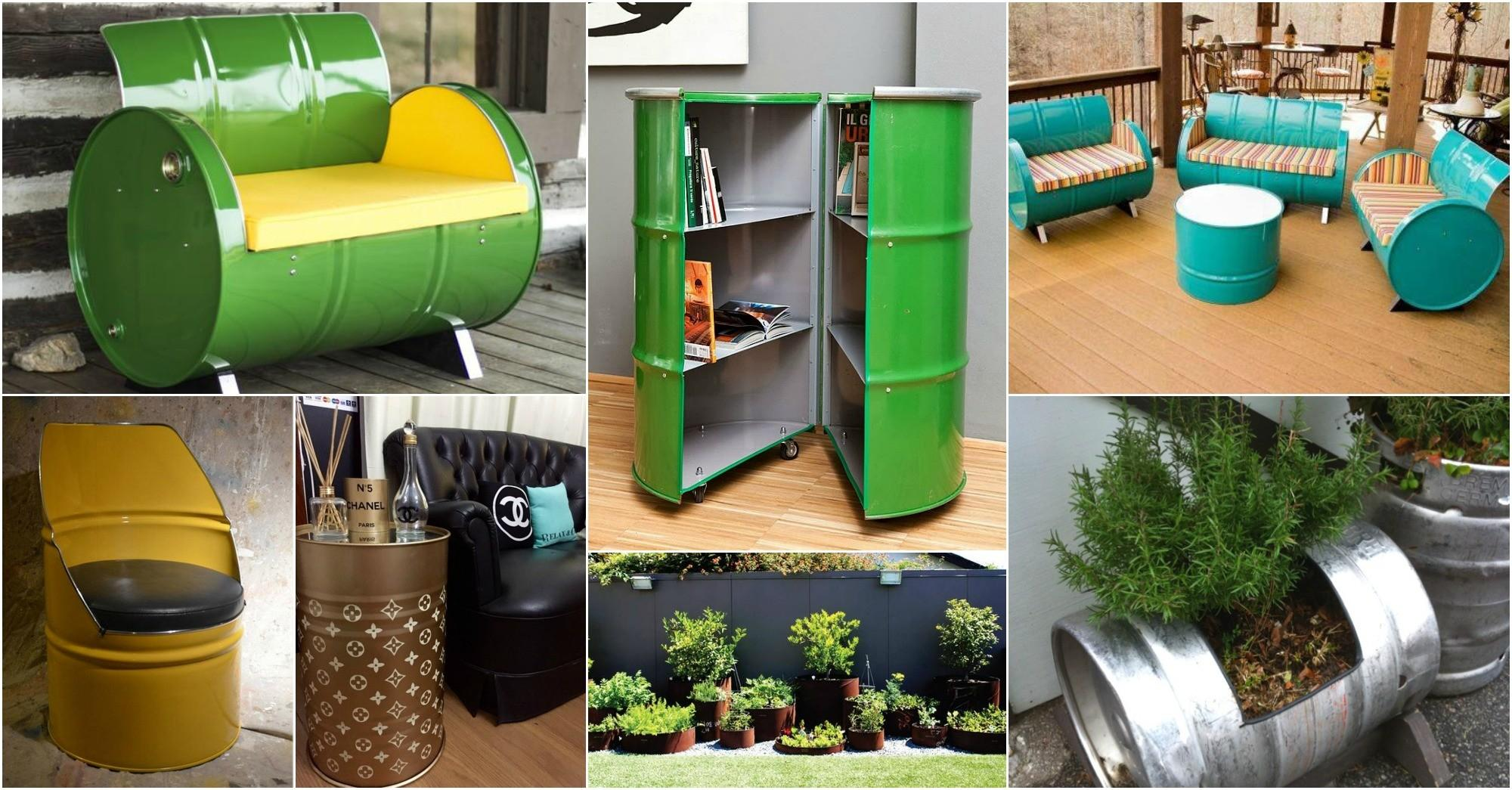 Wonderful Repurposed Metal Drums Solutions