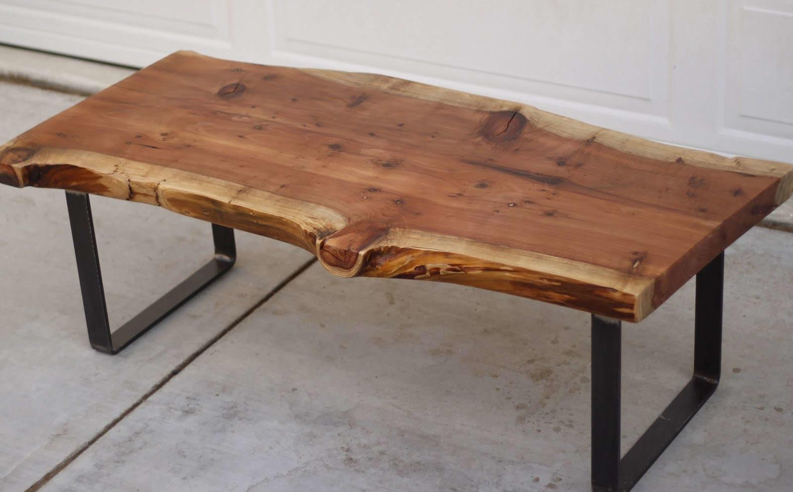 Wonderful Textured Brown Reclaimed Wood Coffee Table Decor