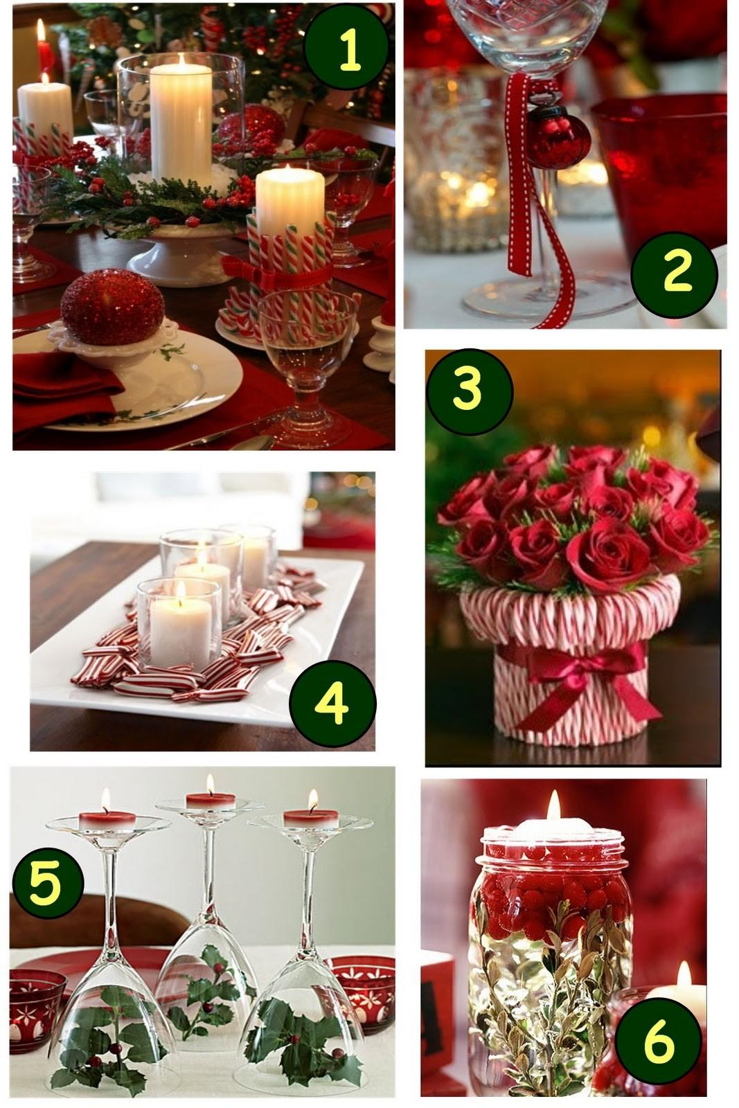 Wondrous Christmas Table Decorations Ideas Showcasing