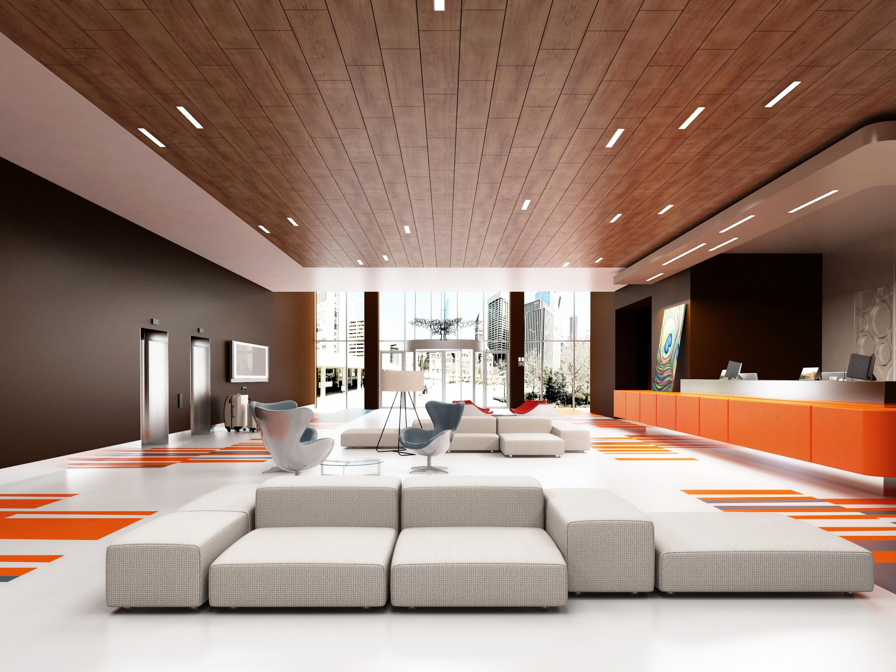 Wood Ceiling Group