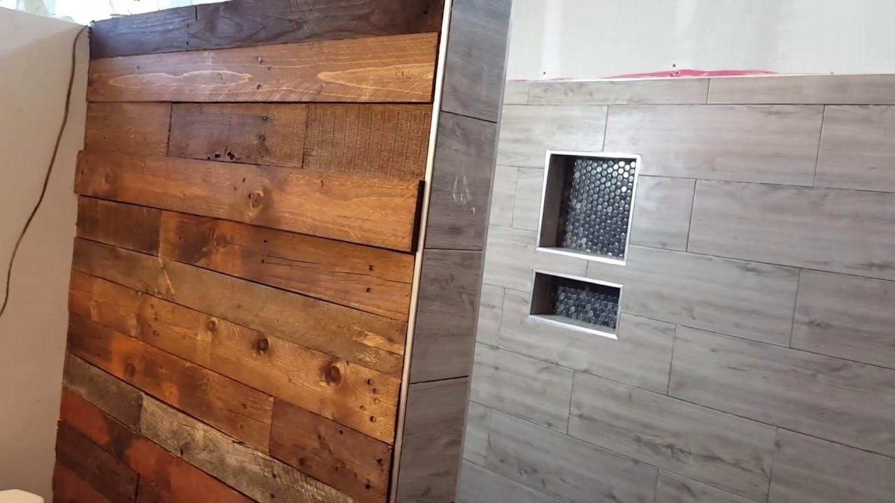 Wood Covering Walls Home Design
