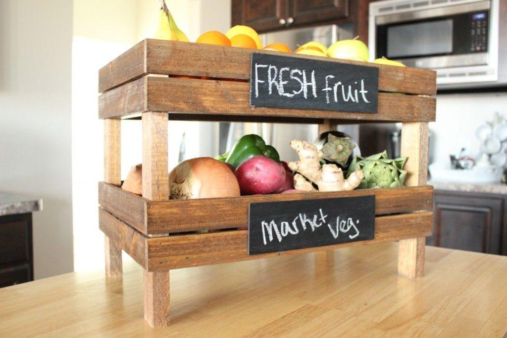 Wood Crate Storage Ideas Have Organized