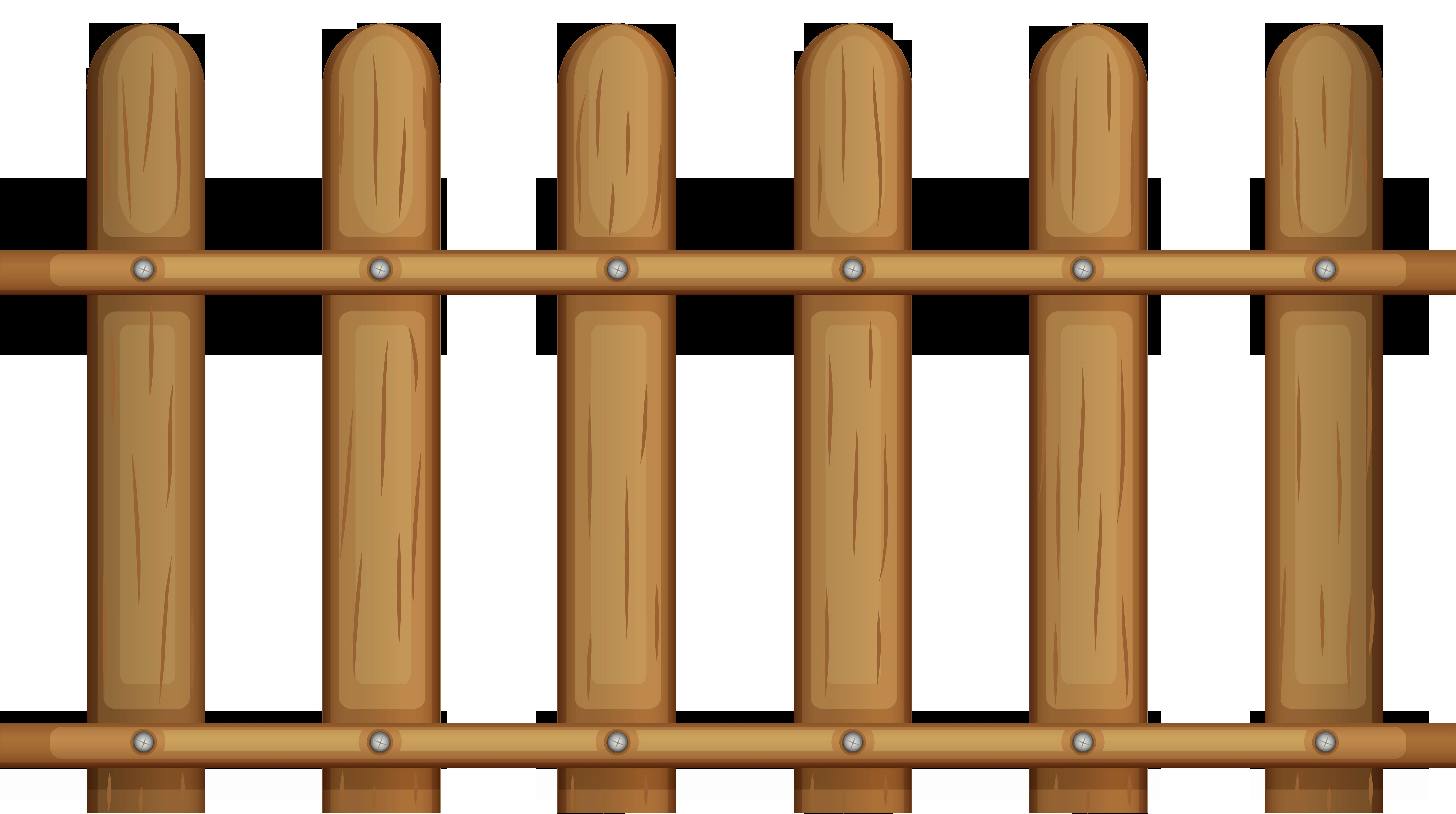Wood Fence Clipart Clipground