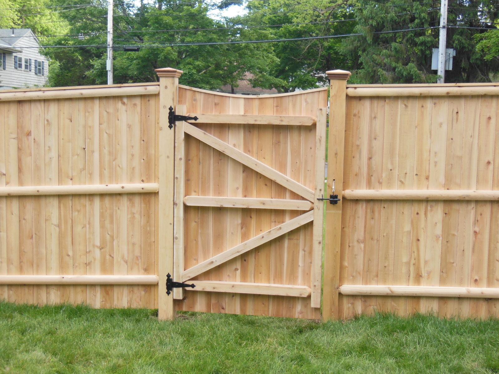 Wood Fence Gate Designs Home Design Some Collections
