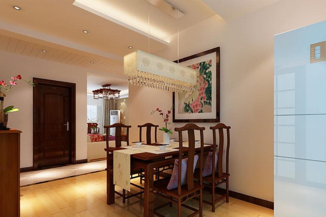 Wood Furniture New Chinese Style Dining Room