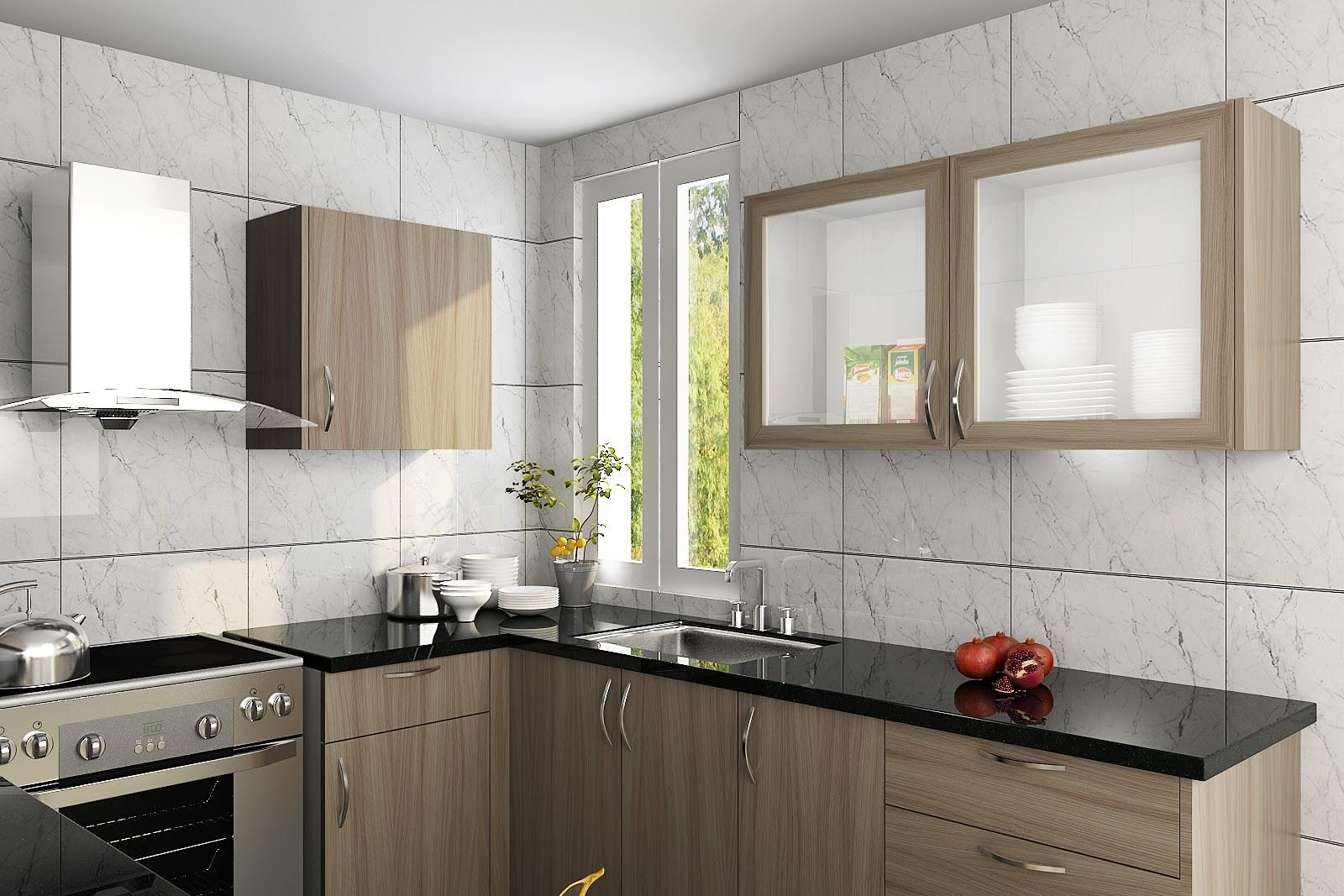 Wood Grain Kitchen Cabinets African Families