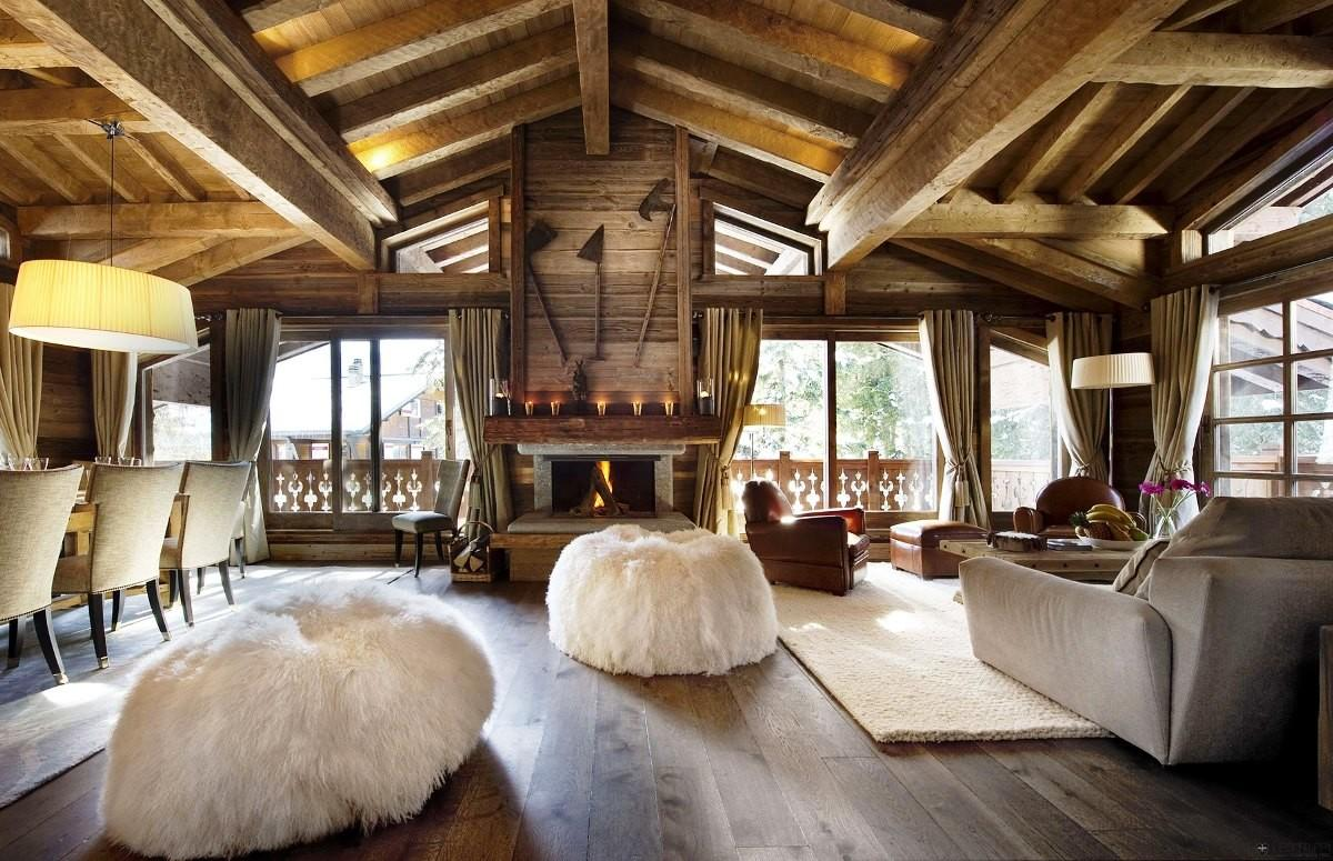 Wood House Interior Wooden Tips Correct
