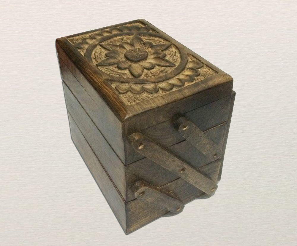 Wood Jewelry Box Handmade