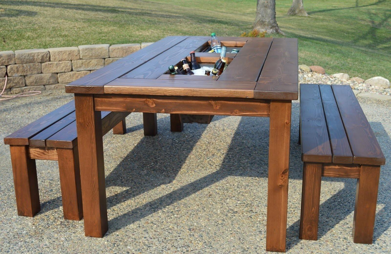 Wood Patio Table Designs Outdoor Furniture Ideas