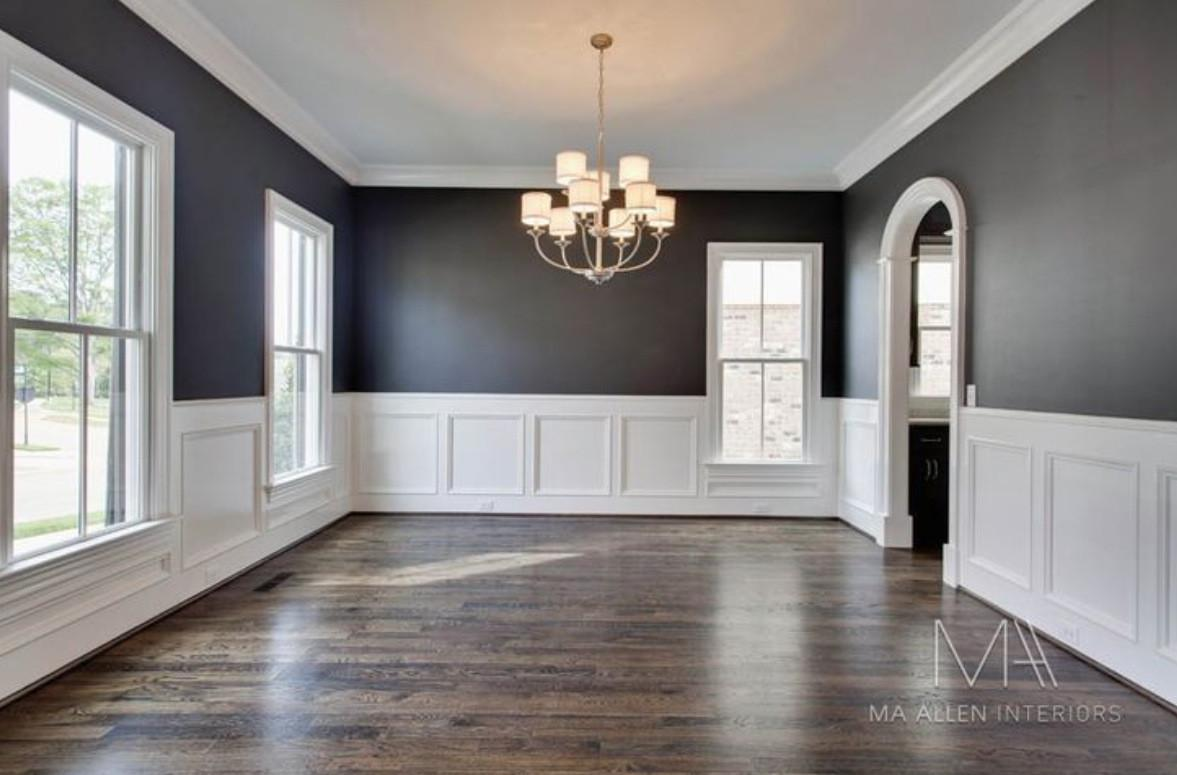 Wood Plank Wall Paneling Dining Room Wainscoting Ideas