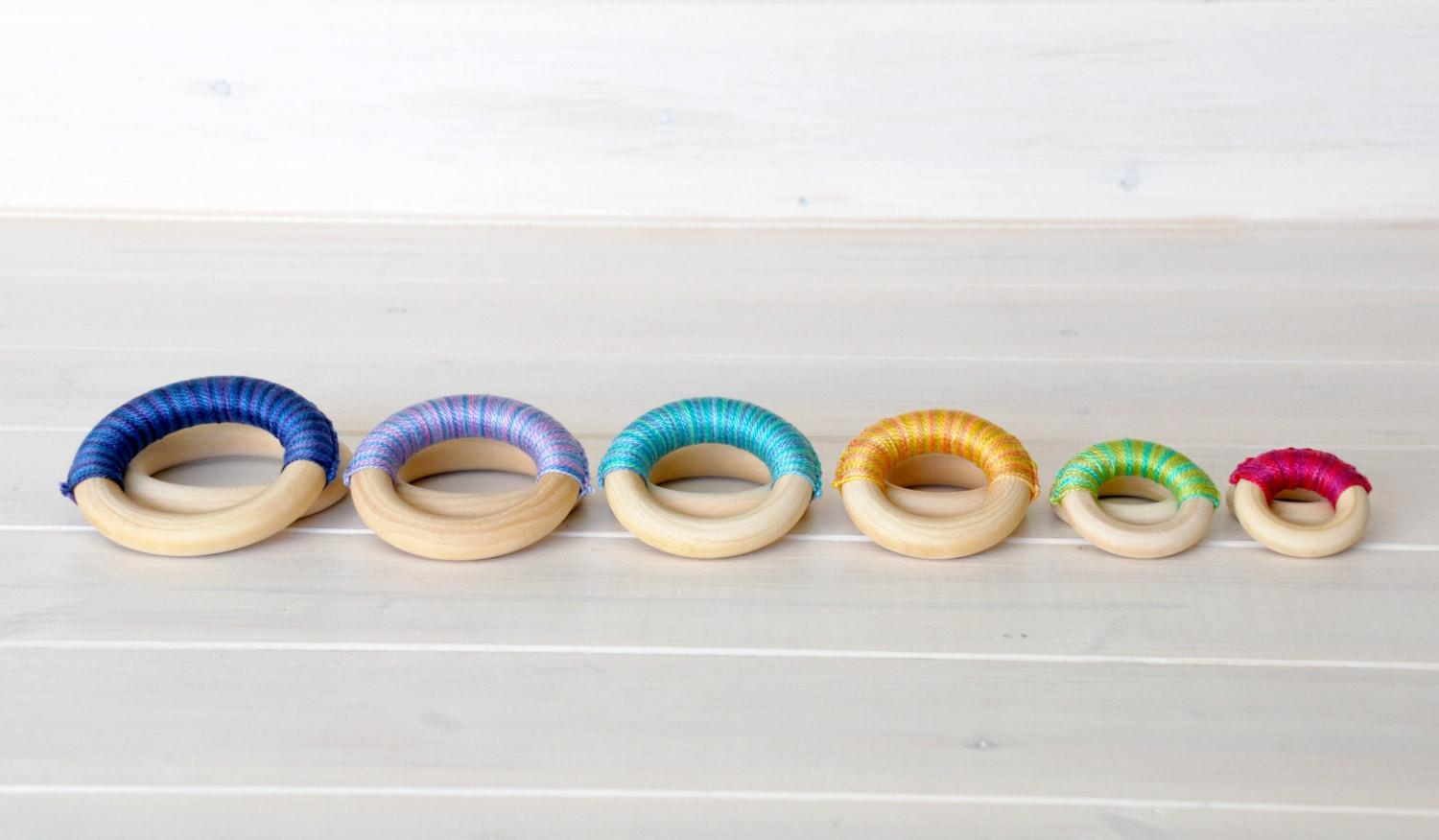 Wood Rings Extra Small Wooden