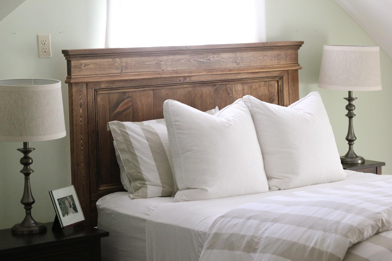 Wood Upholstered Headboard Fashion Bed Group