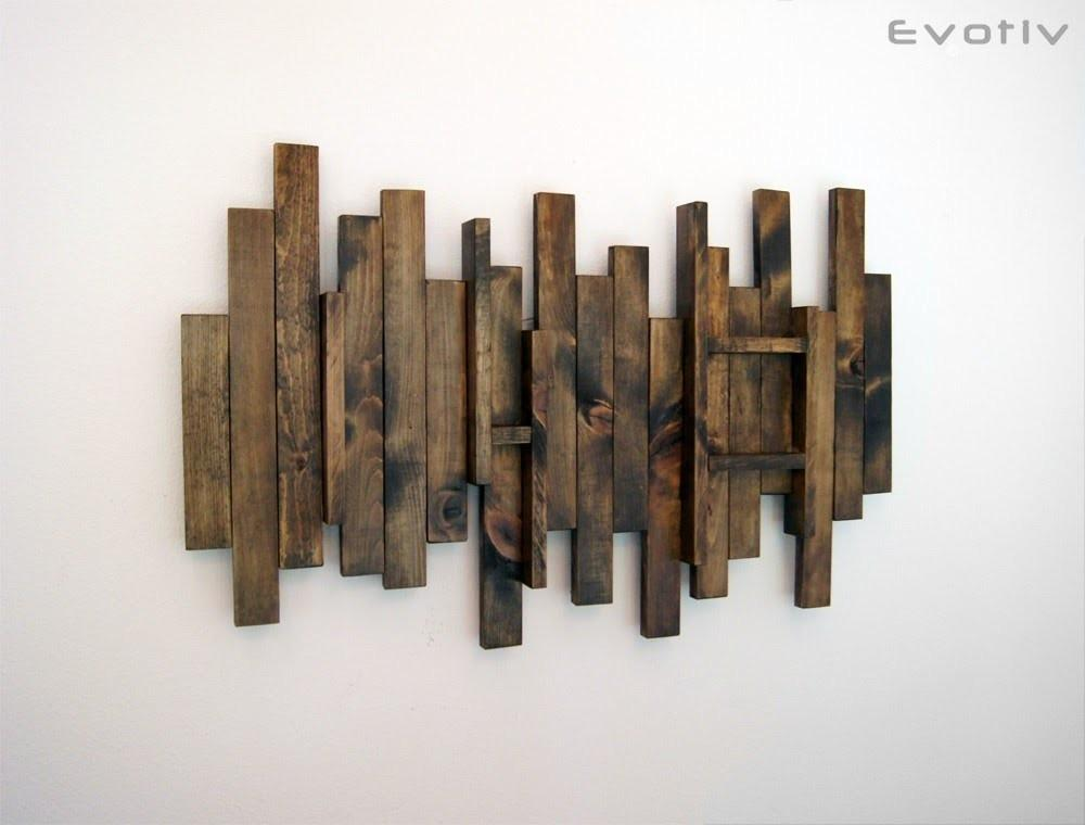 Wood Wall Art Contemporary