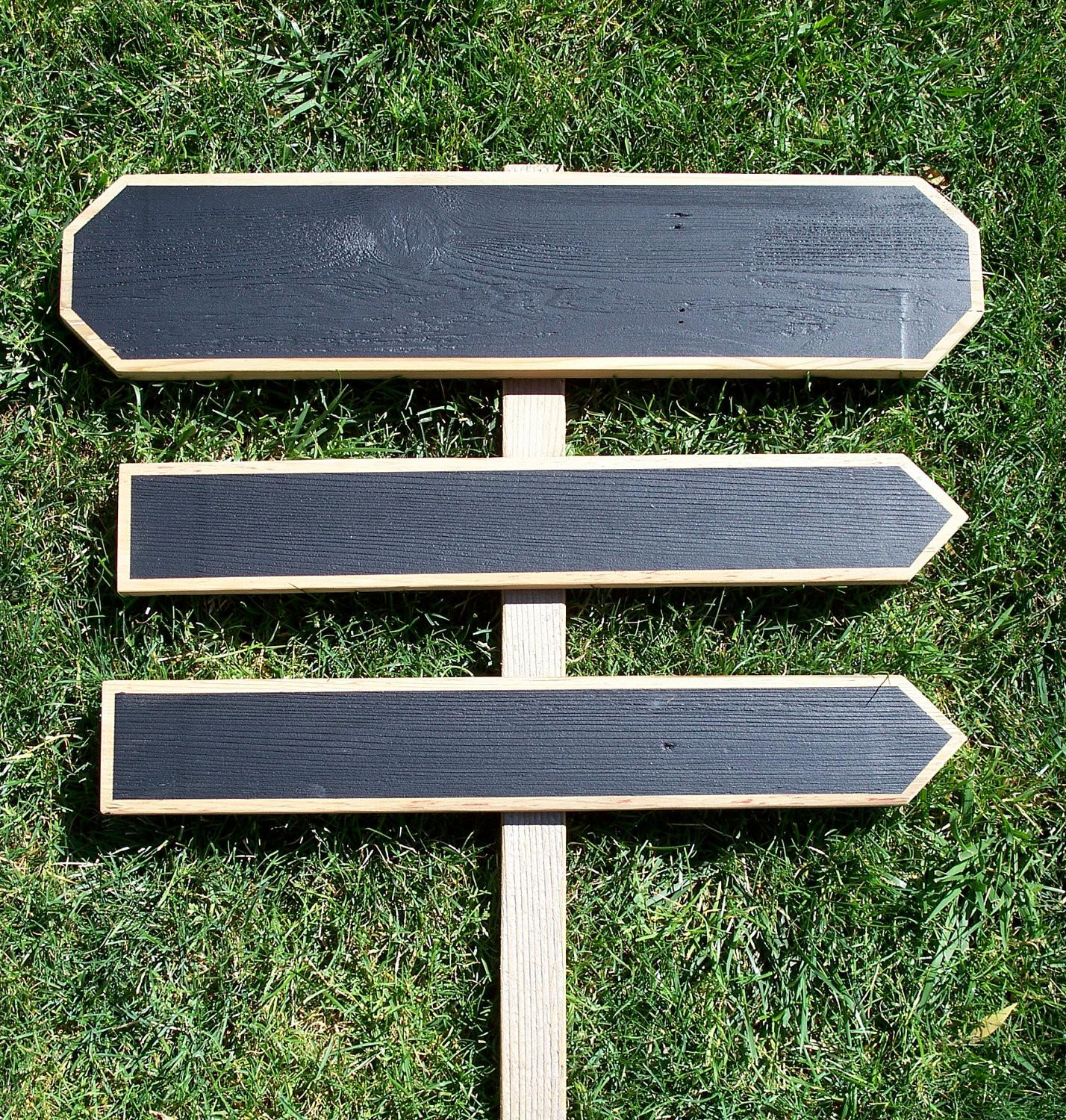 Wood Wedding Signs Chalkboard Sign Kit Misckdesigns
