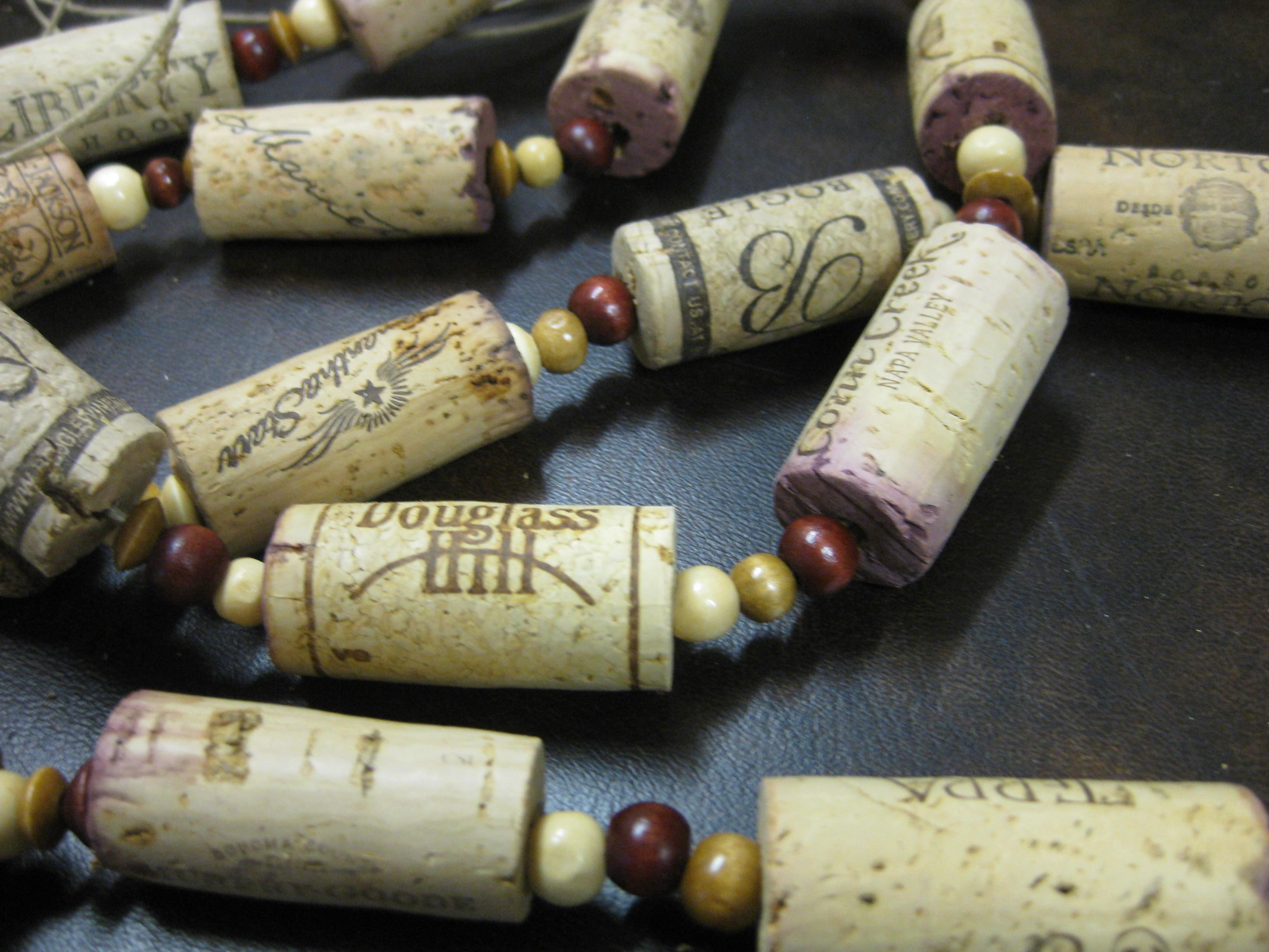 Wooden Bee Blog Archive Wine Cork Garland