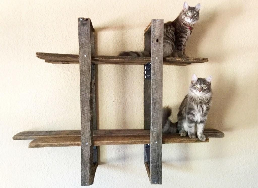 Wooden Cat Tree Tower Furniture