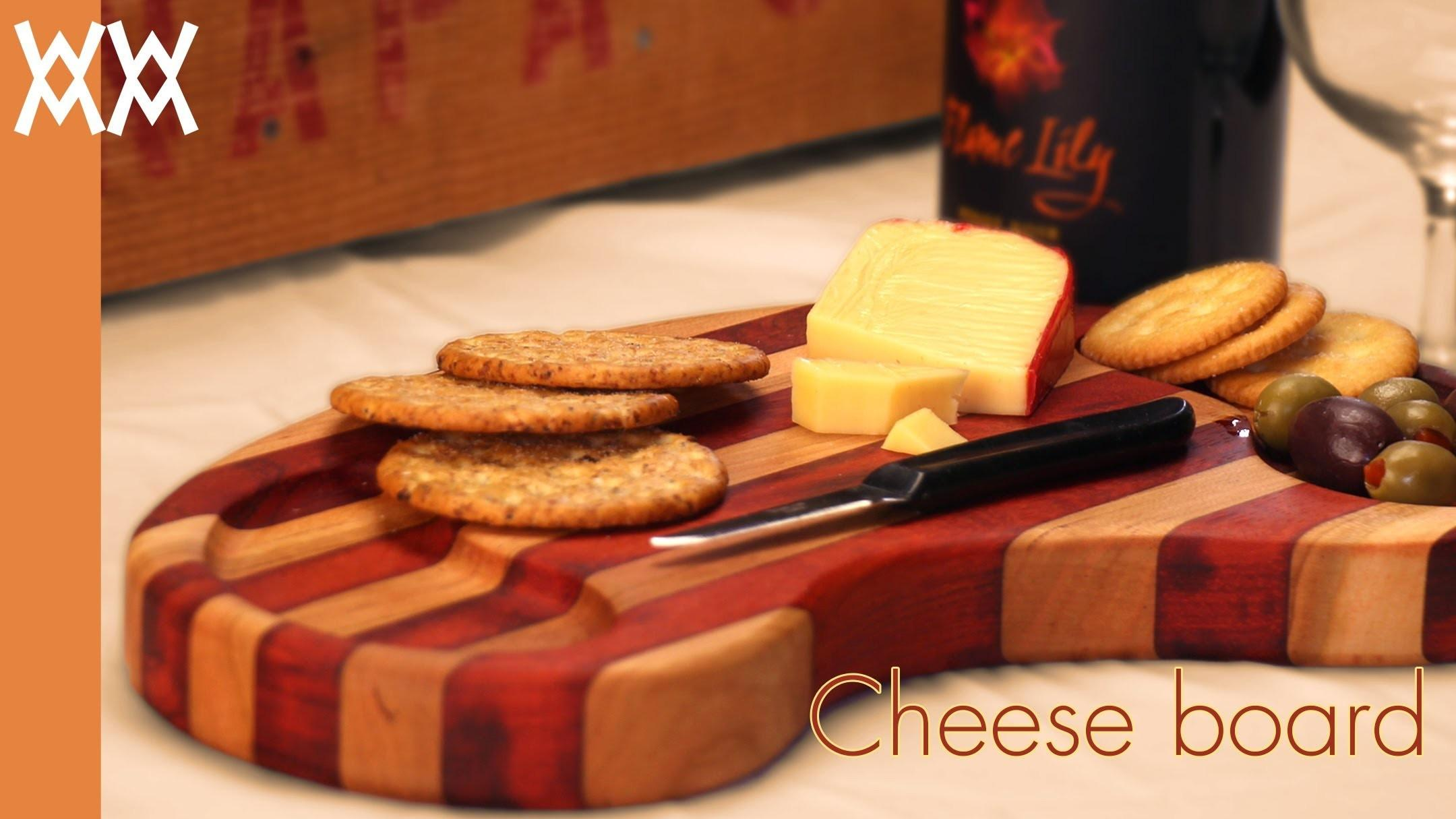 Wooden Cheese Board Can Make Simple Cutting