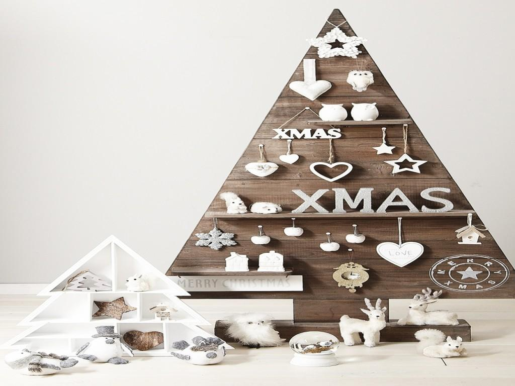 Wooden Christmas Decor Diy Tree Modern