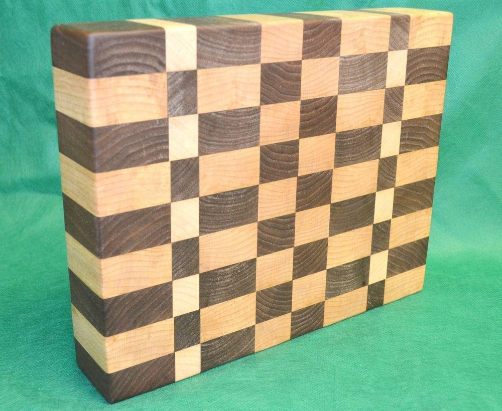 Wooden Cutting Board End Grain Thick