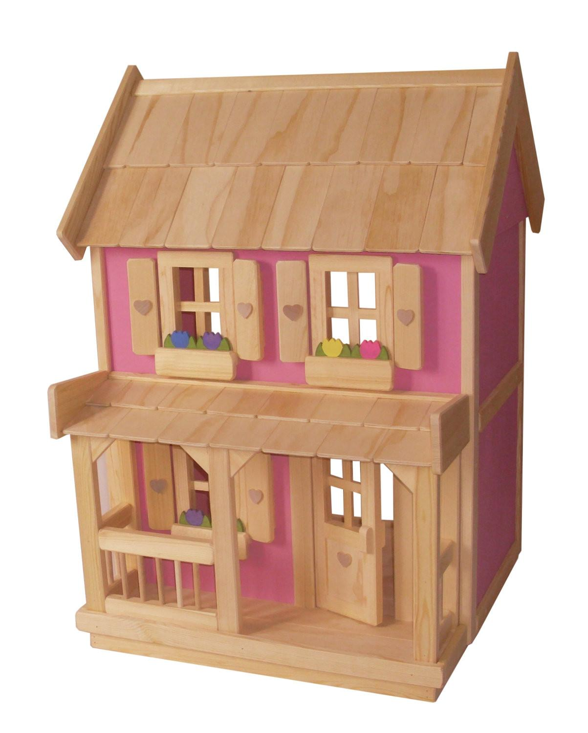Wooden Doll House Piece Wood Dollhouse Furniture