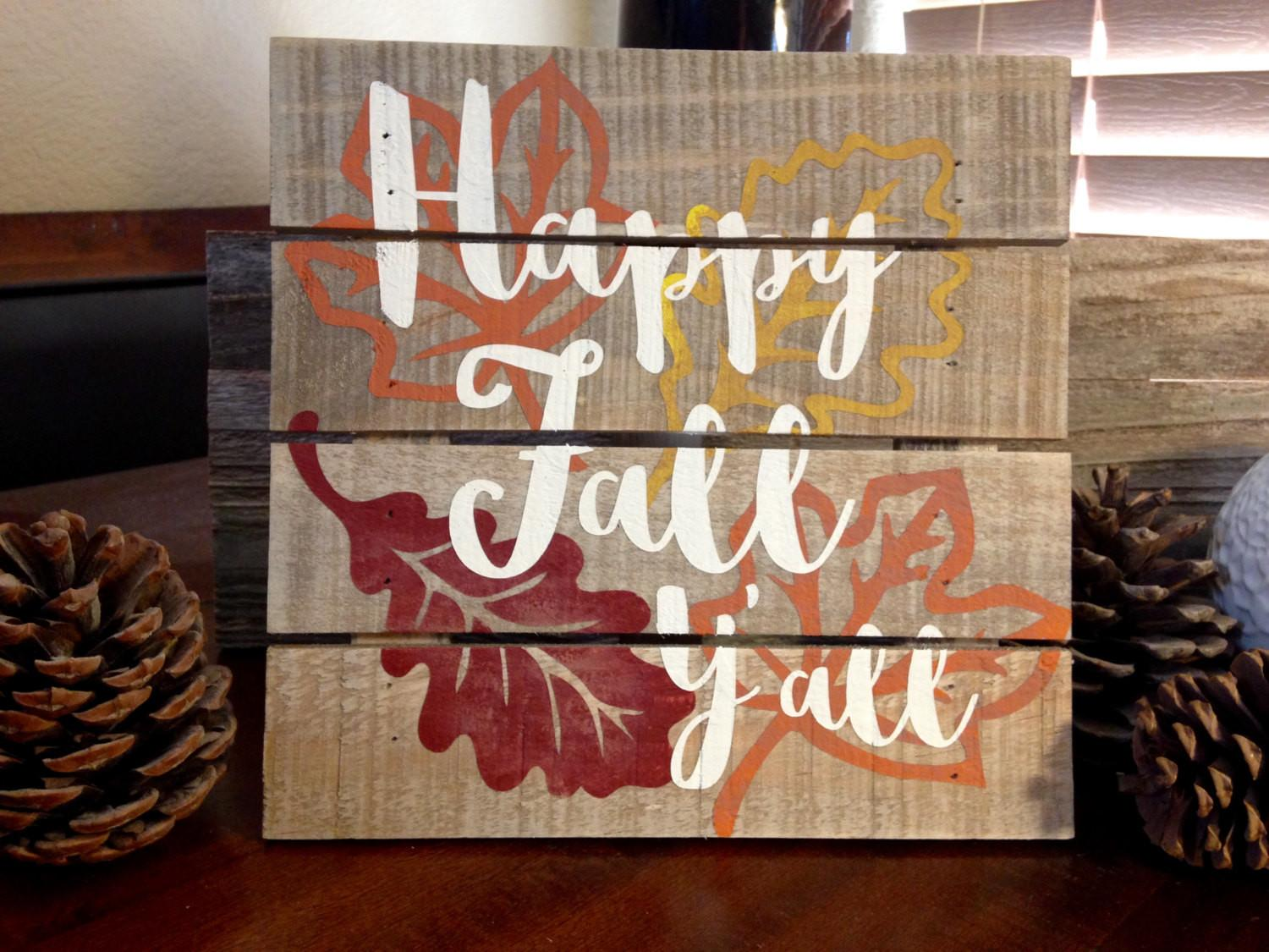 Wooden Fall Signs Imgkid Kid Has