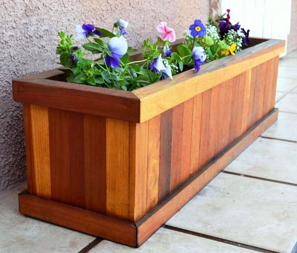 Wooden Flower Planter Iimajackrussell Garages Unique
