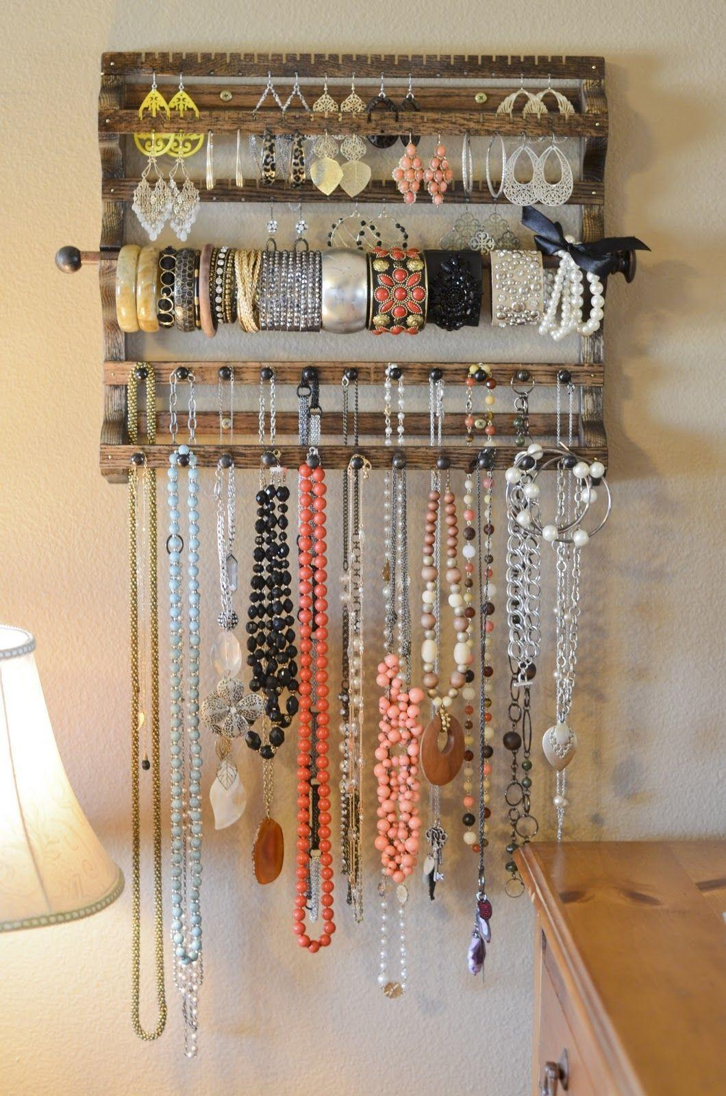Wooden Jewelry Organizer Photos