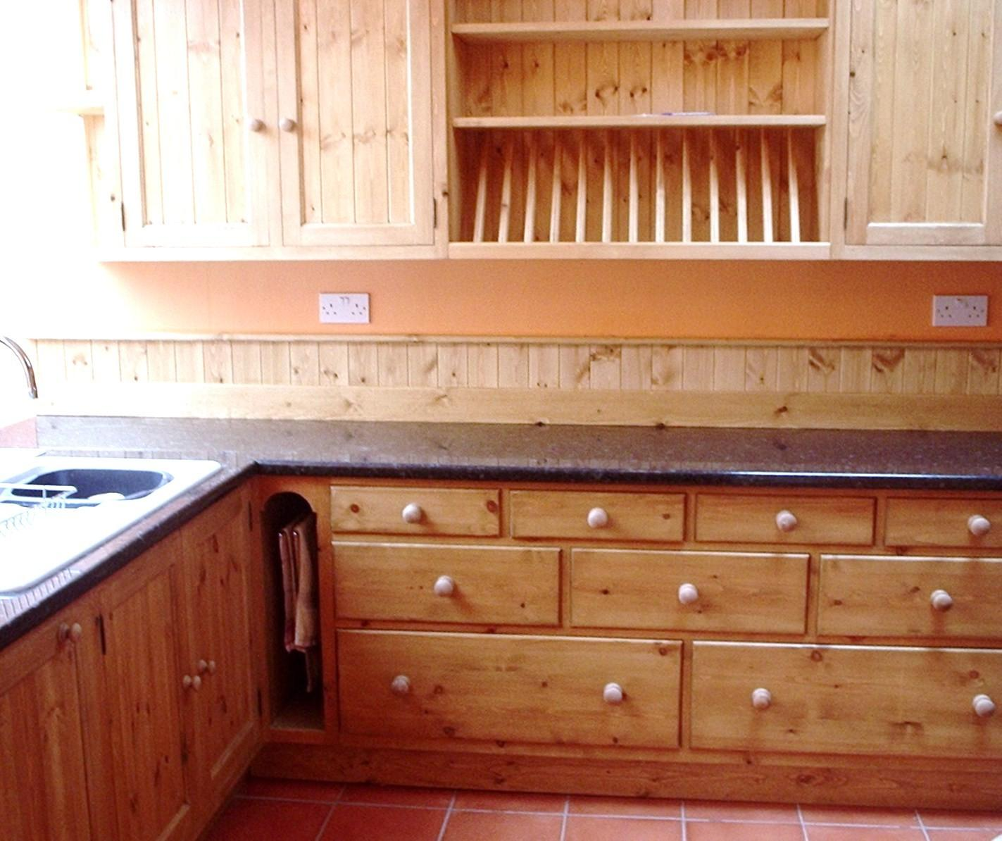 Wooden Kitchen Granite Worktops Oak Furniture Somerset