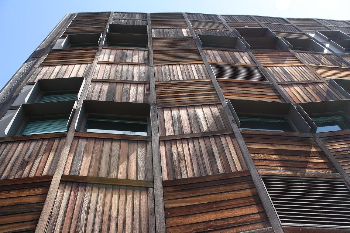Wooden Know Architecture Timber Urban Melbourne