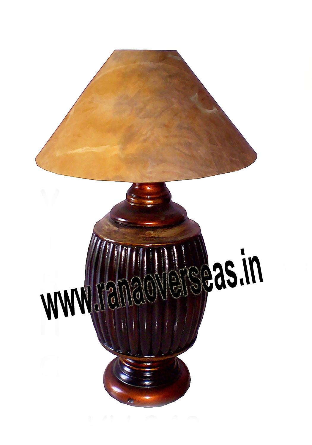Wooden Lamps Rana Overseas
