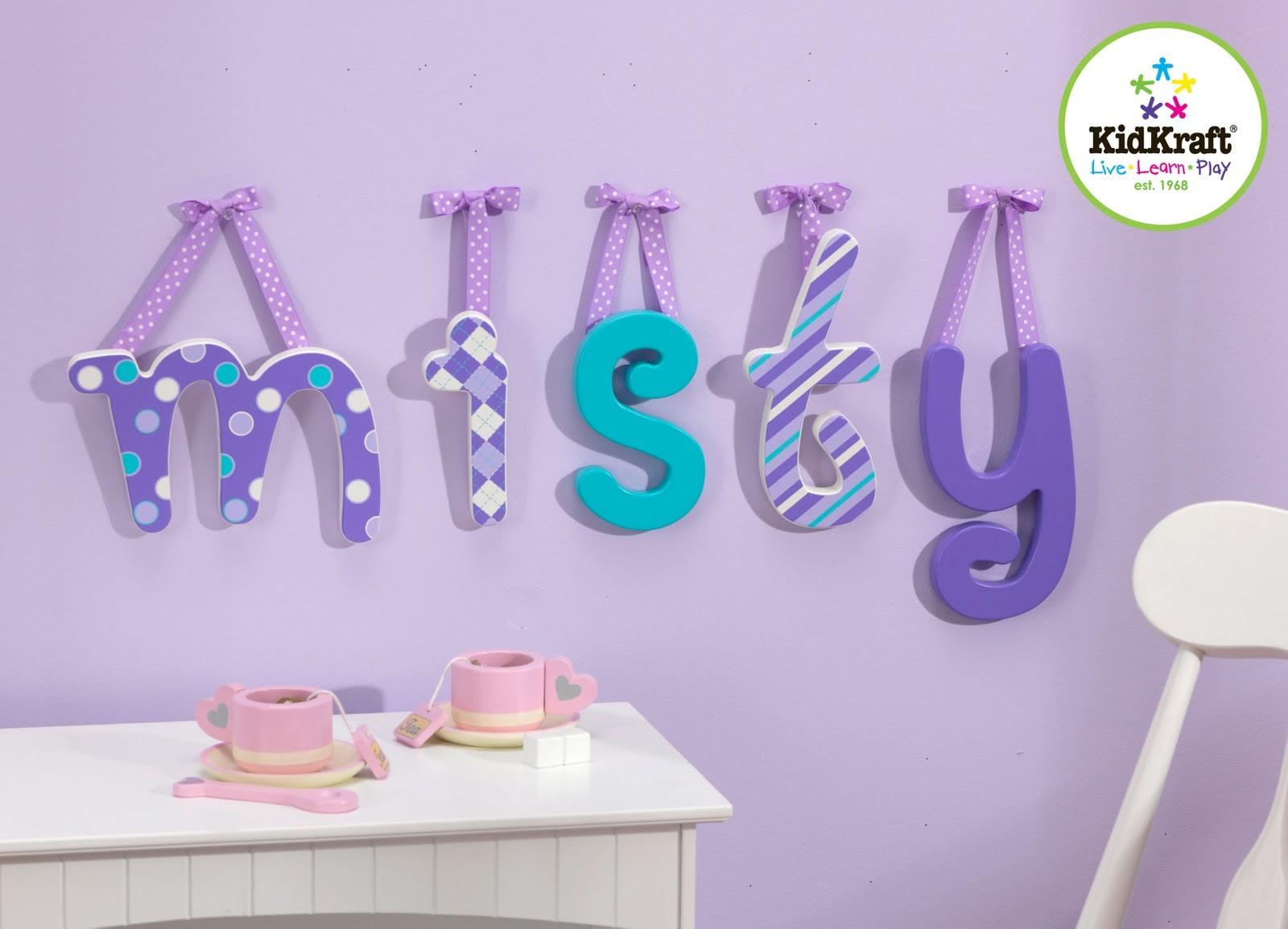 Wooden Letters Decor Decorative Wall