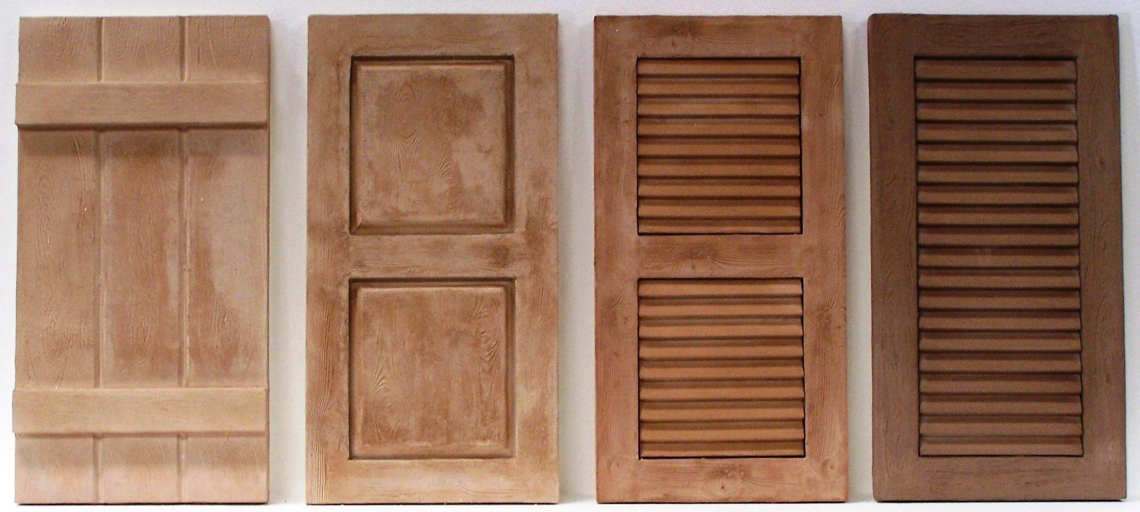 Wooden Shutters Made Measure Window