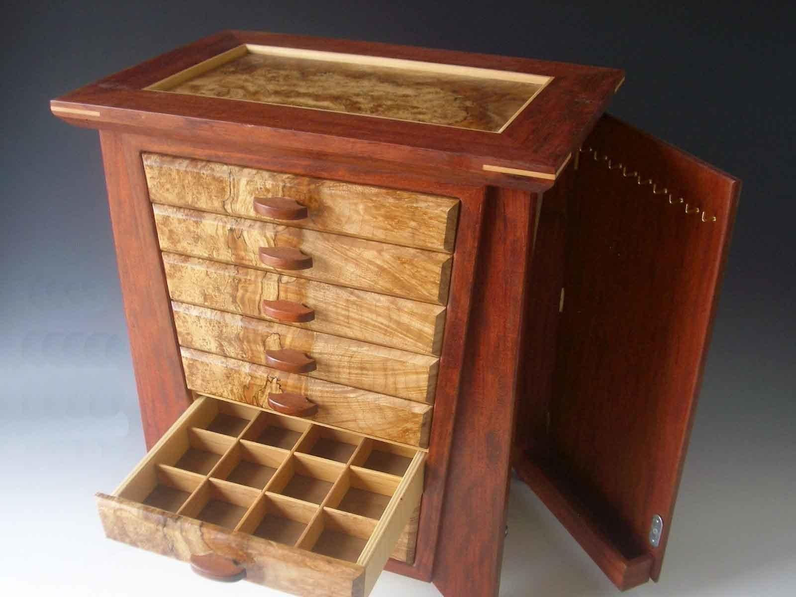 Wooden Storage Chest Handmade Jewelry Box Plans