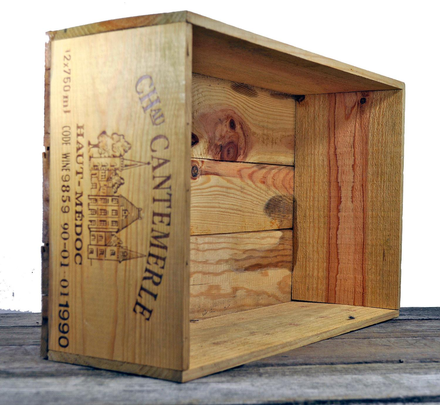 Wooden Wine Crate Crafts