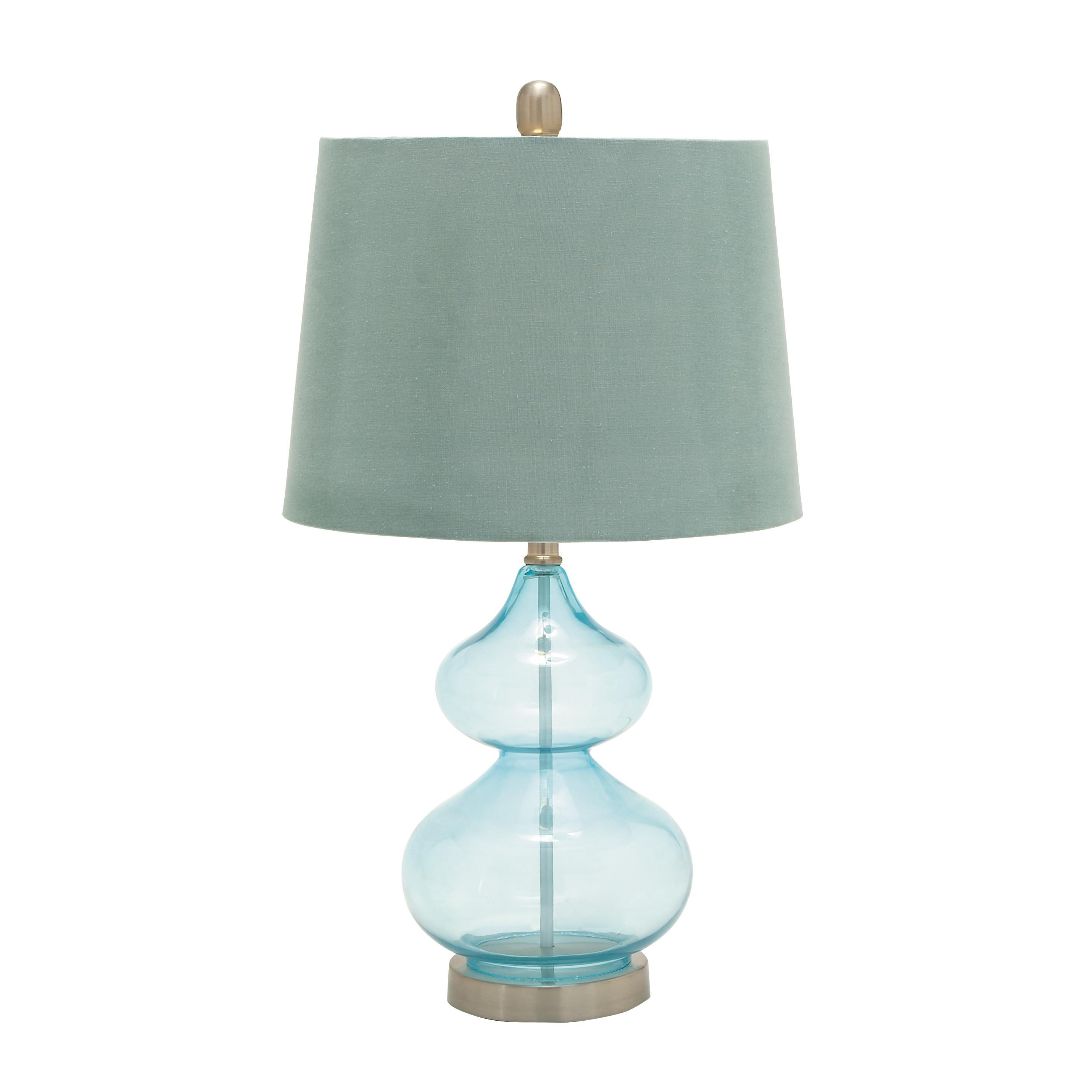 Woodland Imports Unique Table Lamp Empire Shade