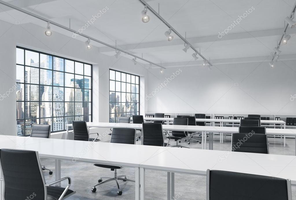 Workplaces Bright Modern Loft Open Space Office