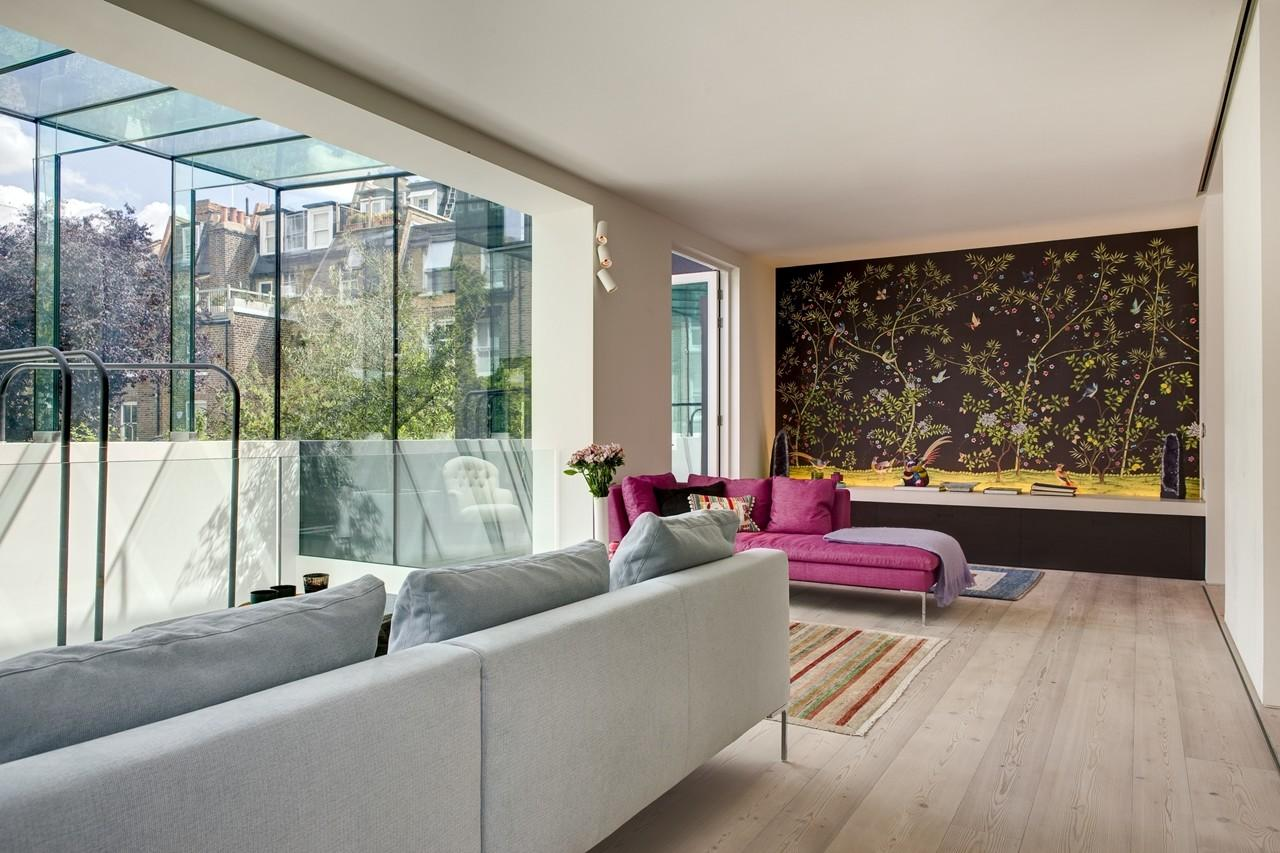 World Architecture Modern London House Souldern Road