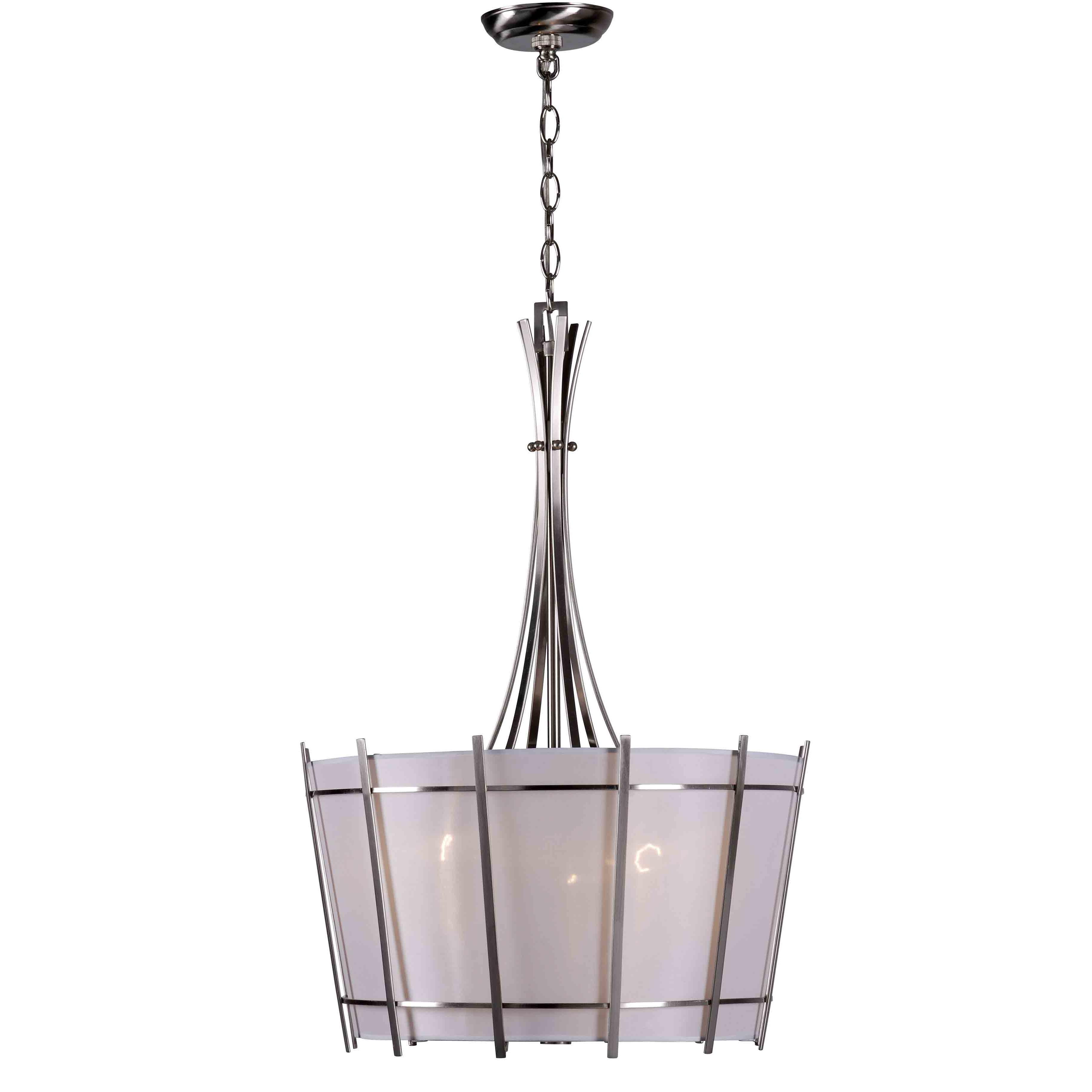 World Imports Lighting Fensu Light Drum Pendant