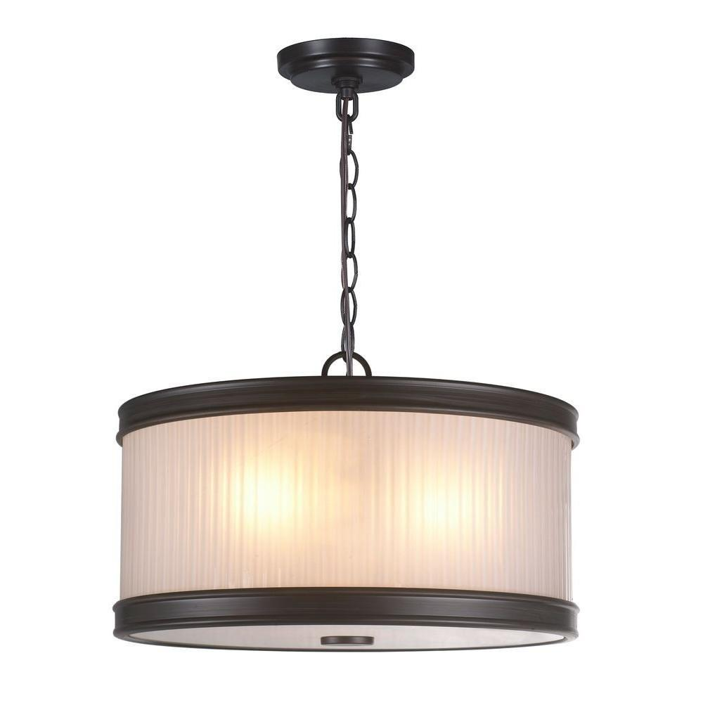 World Imports Lighting Nikolai Light Drum Pendant