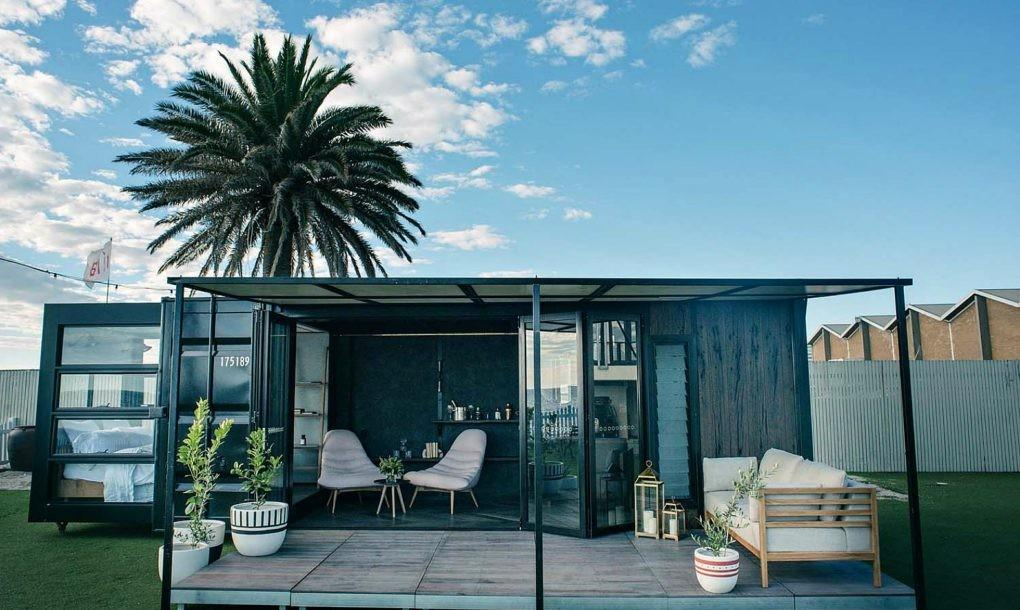 World Most Luxe Shipping Container Hotel