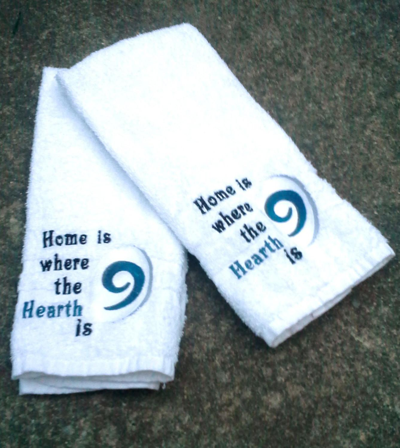 World Warcraft Inspired Hearthstone Hand Towel Set Home
