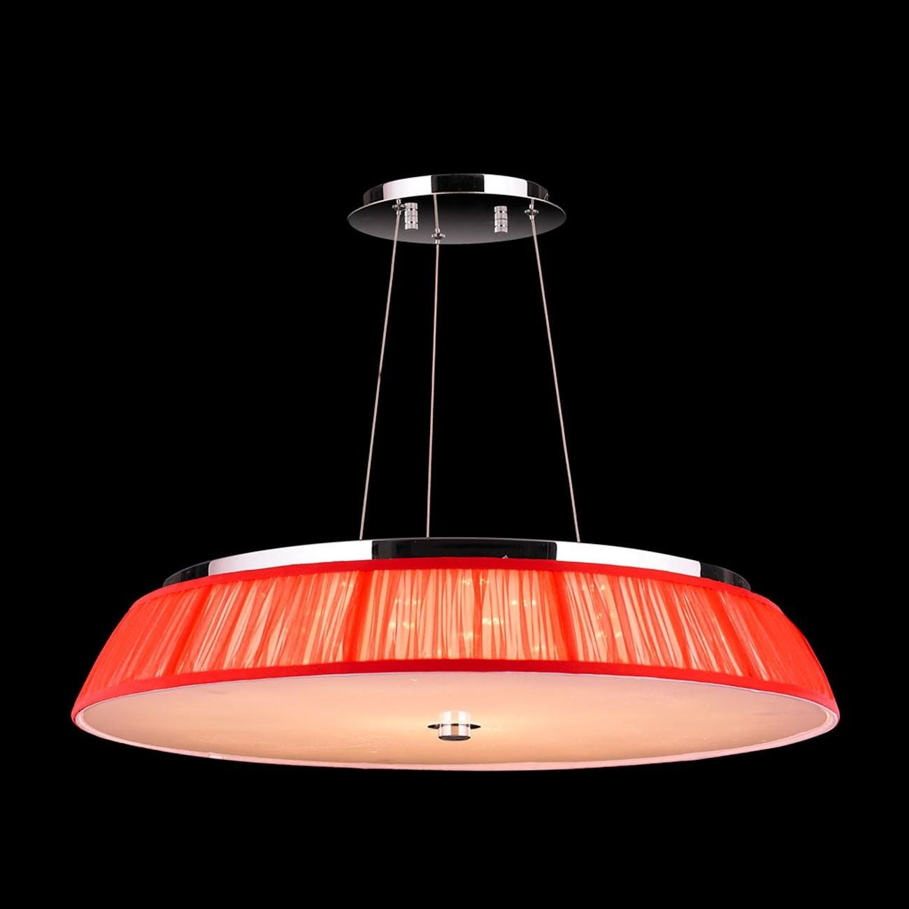 Worldwide Lighting Alice Light Drum Pendant