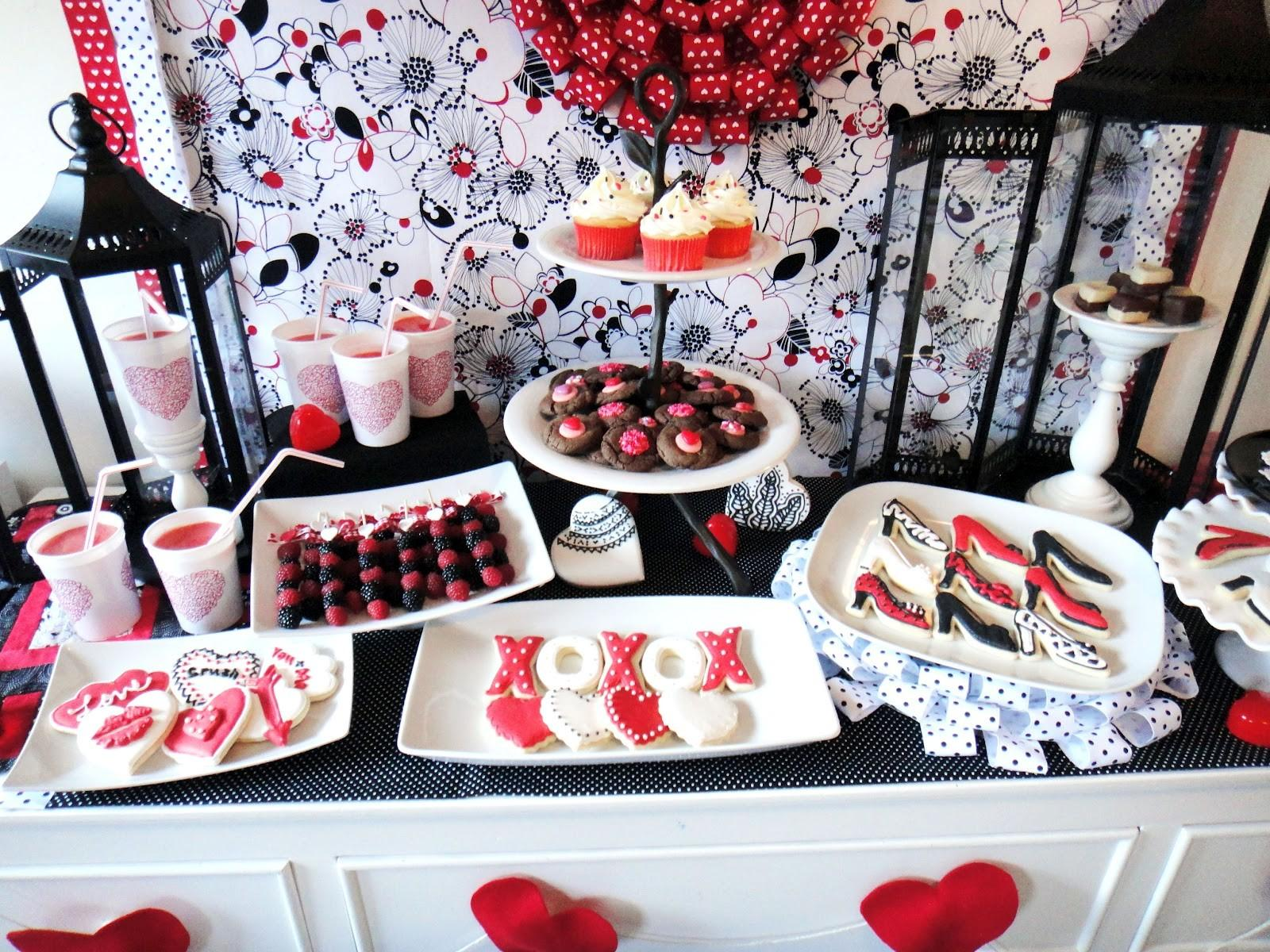 Worth Pinning Valentine Day Inspired Party