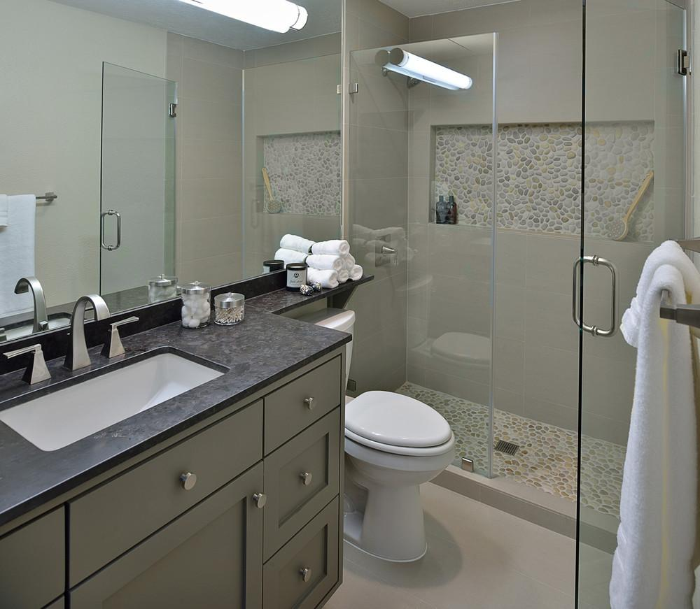 Would Horizontal Slab Mirror Look Right Your Bathroom