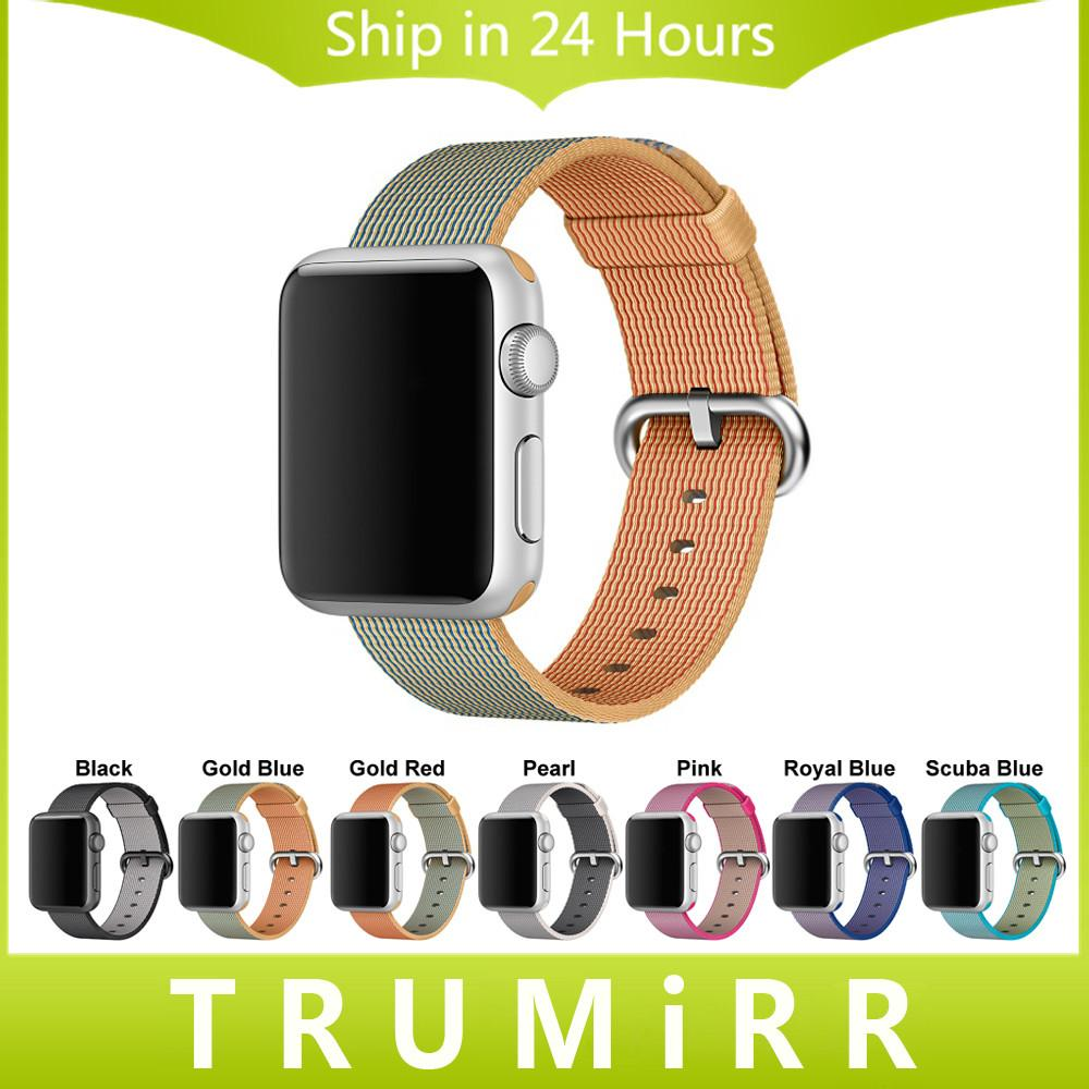 Woven Nylon Watchband Iwatch Apple Watch 38mm 42mm