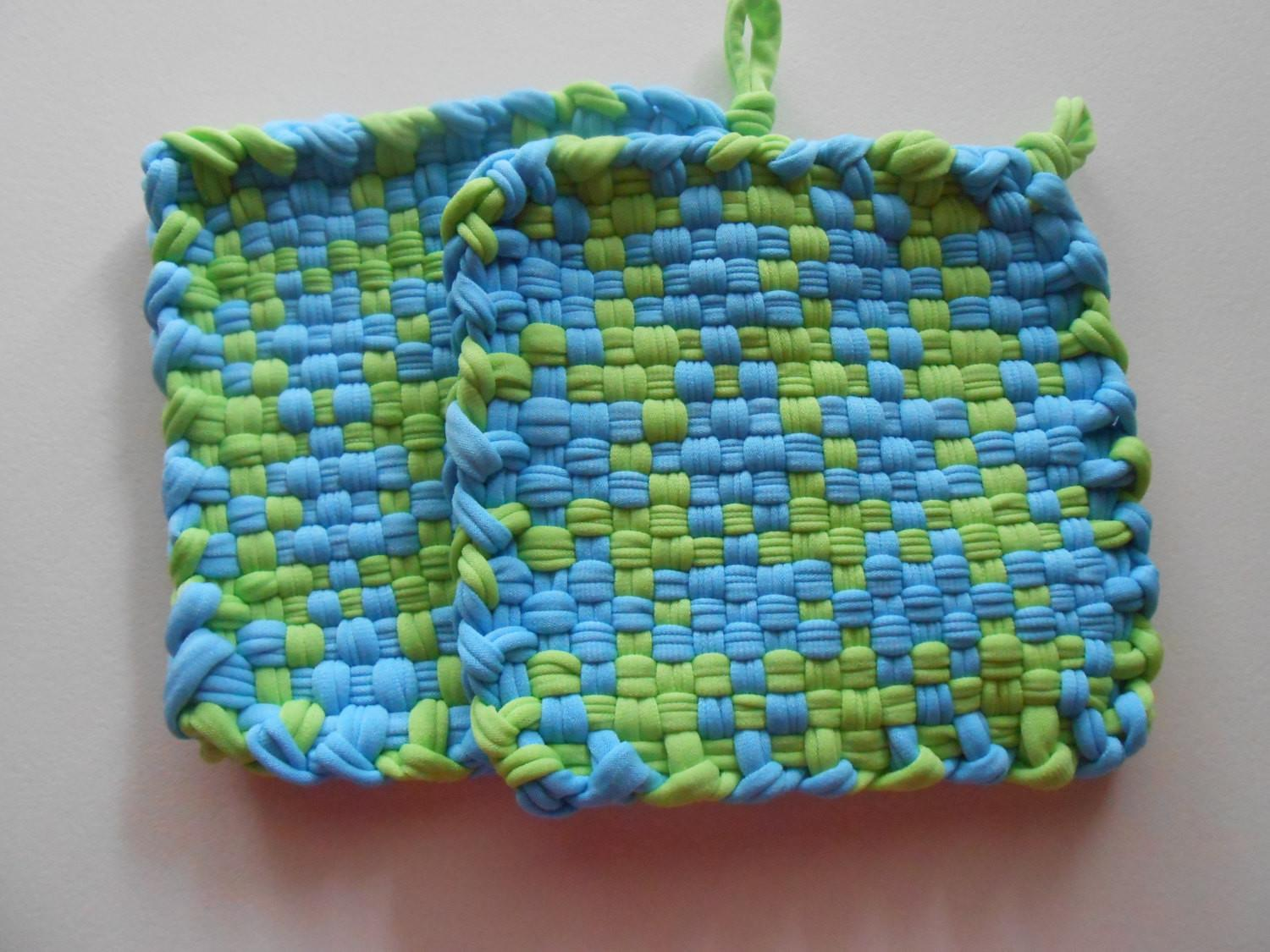 Woven Pot Holder Crafts